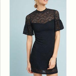 "NWT🖤ANTHRO-Rosalind"" little Black dress-LG"